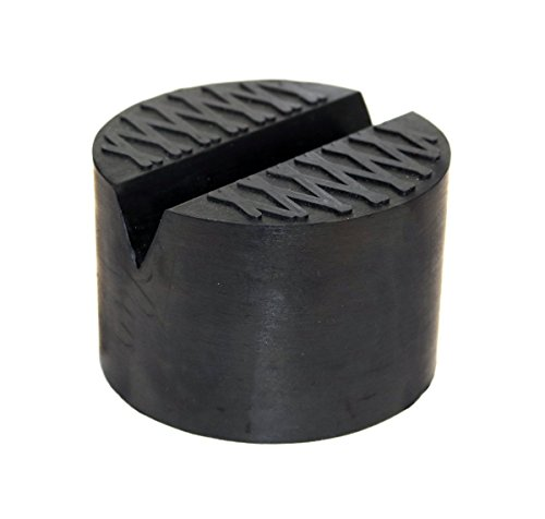 TMB Motorsports Single V-groove Rubber Universal Floor Jack Pad Adapter