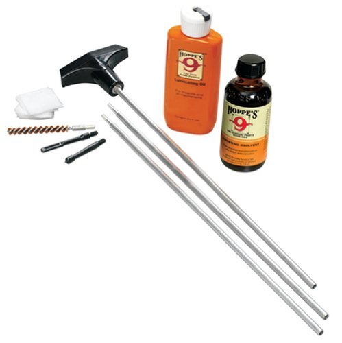 Hoppe's No. 9 Cleaning Kit with Aluminum Rod, 12-Gauge Shotgun