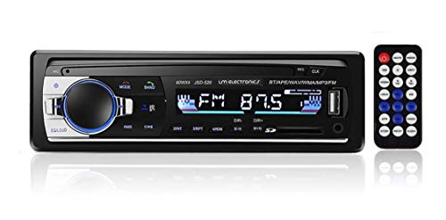 Radio Automotivo MP3 Bluetooth 4x60W LM Electronics FM USB Aux. SD Equalizador