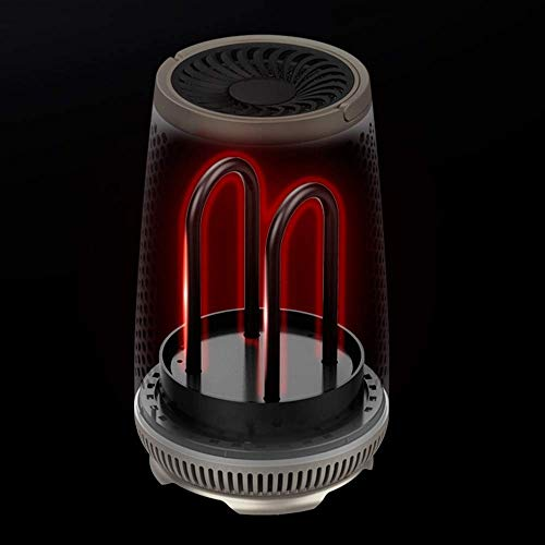 Baobei Jaula de Asar Estufa de Asar Calentador Máquina de Viento Caliente Hogar Ahorro de energía Pequeño Sol Calentador...