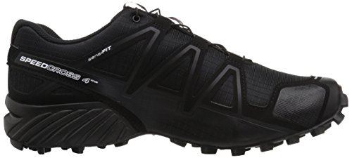 Black Running 4 Black Nero Black Black Black Metallic Black da Trail Metallic Wide Salomon Speedcross Uomo Scarpe nf1UqOqY