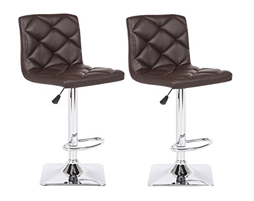 Cheap US Pride Furniture Rio Adjustable Swivel Bar Stool