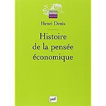 Histoire de la pensée économique [ancienne édition]