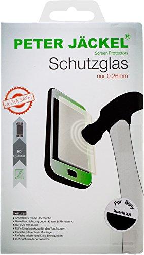 Peter Jäckel 15577 - Protector de pantalla (Protector de pantalla anti-reflejante, Sony, Xperia XA, Resistente a arañazos, Transparente, 1 pieza(s))