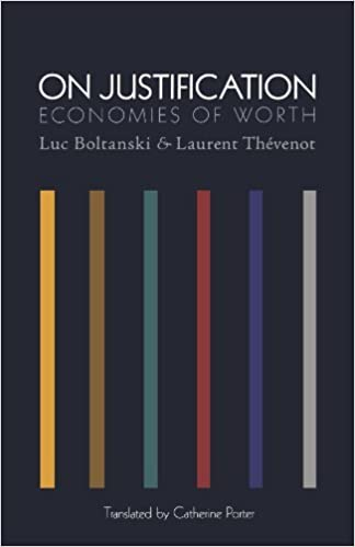 Book On Justification: Economies of Worth (Princeton Studies in Cultural Sociology) by Luc Boltanski (2006-03-27)