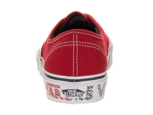 Vans Red Authentic Vans Authentic rqrw7