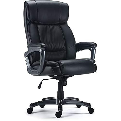 Staples Lackland Bonded Leather Big & Tall Managers Chair - Office Chairs 400 Lb Capacity