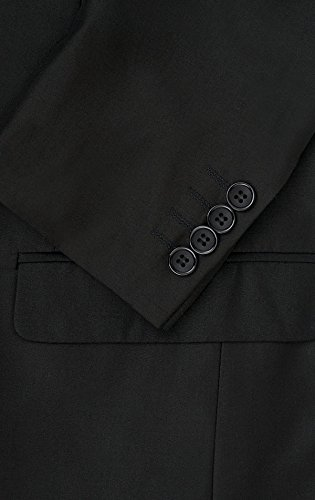 Alexander Dobell Veste de Costume Noire Contemporain