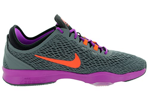 Orange Damen Hypr Prpl Vvd Sneaker Fit NIKE Dark Zoom Grey CS0xwg