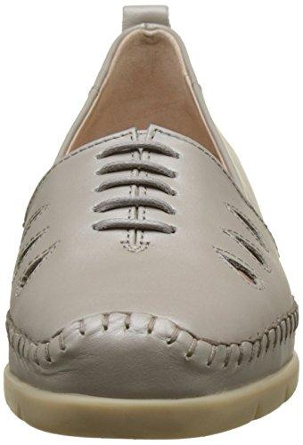 Luxat Emlu, Zapatos de Cordones Derby para Mujer Argent (Argent)