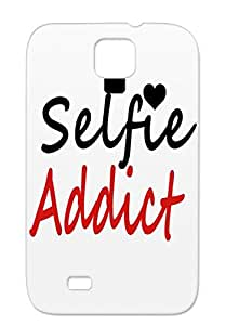 Twerk Mirror Love Selfies Myspace Twosie Hip Hop Alone Selfie Self Music Selfy TPU Red Case For Sumsang Galaxy S4 Selfie Addict