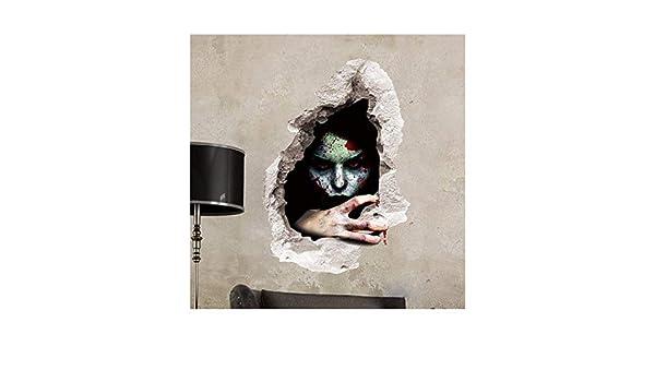 TYKCRt Etiqueta De La Pared Thriller Bloody Horror Tatuajes De ...