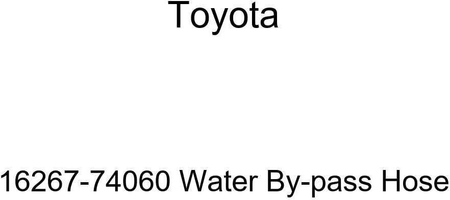 Genuine Toyota 16267-74060 Water By-pass Hose