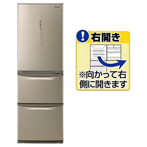PANASONIC NR-C37HC-N シルキーゴールド [冷蔵庫(365L右開き)]   B07B8B5CXL
