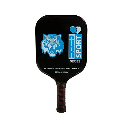 DRsport Light Weight Professional Pickleball Paddle. Honeycomb Core Composite. 3K Carbon - Calgary Band Women
