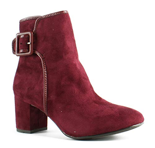 WHITE MOUNTAIN Womens Wm Callaway Red Fashion Boots Size 7.5