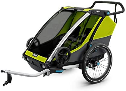 Thule Chariot Bac2, Chartreuse Remolque De Bicicleta, Adultos ...