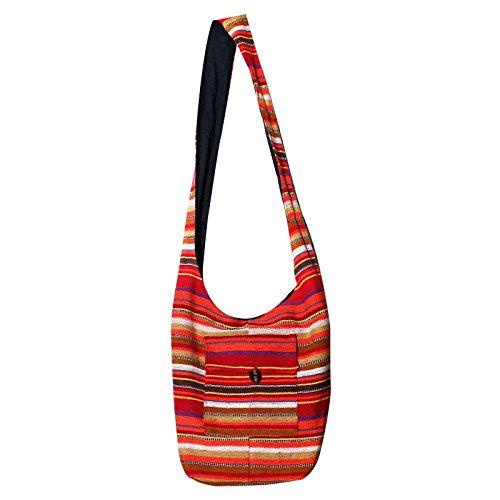 Latest Designer Multicolor Jute Shoulder Bag