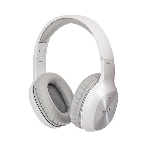 chollos oferta descuentos barato Edifier W800BT Auriculares Diadema Bluetooth Over Ear Auriculares Ligeros inalámbricos para Colocar sobre Las Orejas 50 Horas de reproducción Ligeros Blanco