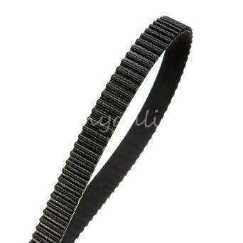Generic UK150608 - 36 < 1 & 3394 * 1 > Prusa M de paso 6 mm 2 mm de paso 6 mm 5 m 3d impresora ancho Reprap GT2 correa de distribución Rostock Mendel Prusa ...