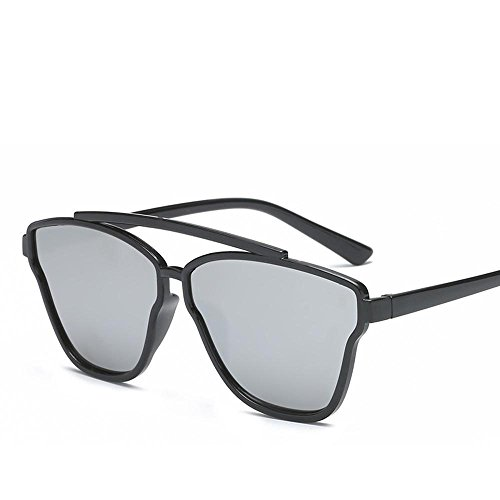 Aoligei Européenne et américaine fashion Square surdimensionné frame lunettes de soleil féminin Harbor vent de soleil rue PAT décoratif Glasse S wU0qg