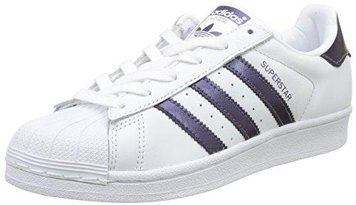 Pumeno Ftwbla para 000 Adidas Zapatillas Ftwbla Blanco Mujer Superstar Bxg6A