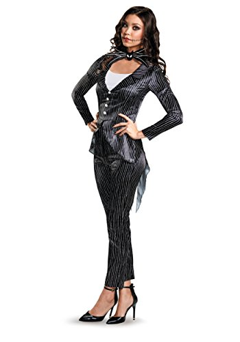Disney Women's Jack Skellington Deluxe Adult Costume, Multi, X-Large ()