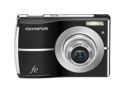 amazoncom olympus fe 45 10mp digital camera with 3x optical zoom and 25 inch lcd titanium point and shoot digital cameras camera photo - Olympus Digital Camera