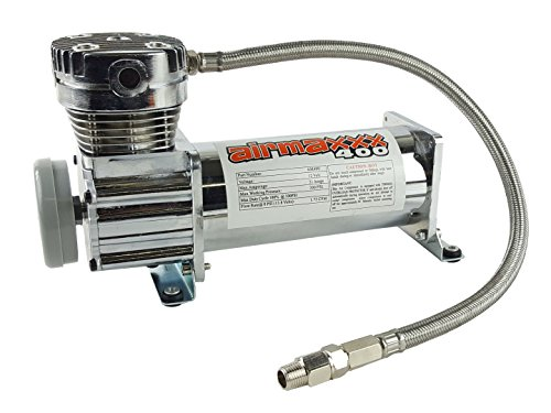 airmaxxx 400 Air Ride Suspension Compressor (chrome) by airmaxxx (Image #1)
