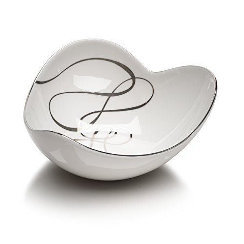 Mikasa Love Story Small Heart Accent Bowl, 5-Inch