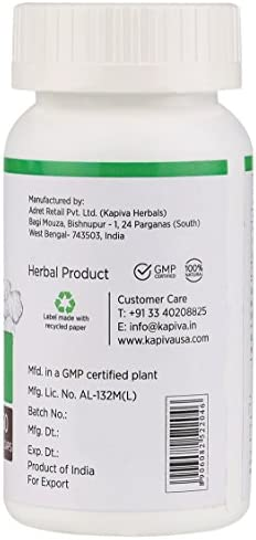 Kapiva Turmeric Supplement 60 Veggie Capsule