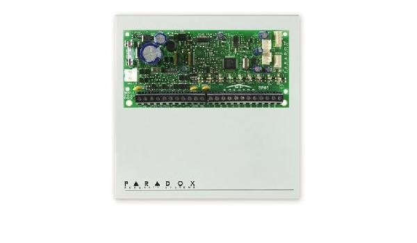 Paradox SP65 Central a microprocesador a 9 zonas cablate (18 ...