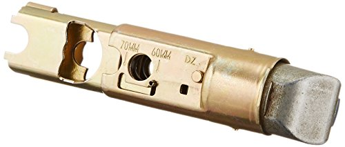 Deadlatch Latch - Kwikset 19831 SA DL 6WAL Adjustable Deadlatch in Polished Brass