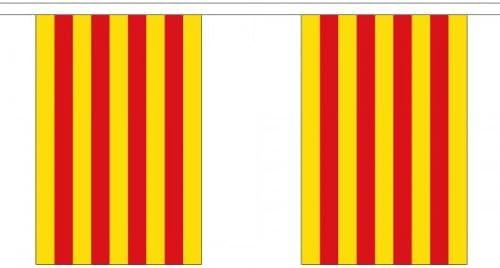 9 METROS 30 (22.9cmx15.2cm) BANDERA CATALUÑA ESPAÑA ...