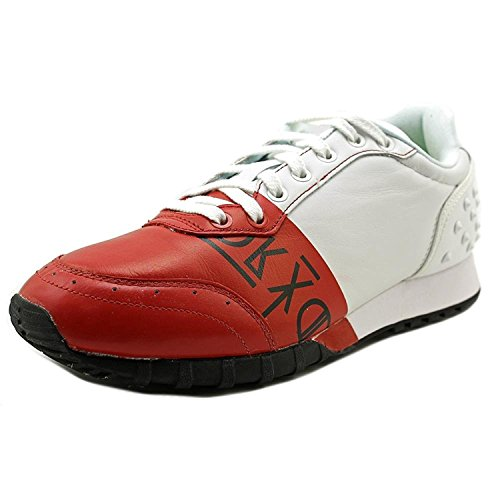 Onitsuka Tiger Men White/Red Colorado Eighty-Five Fashion Sneaker 8 M US