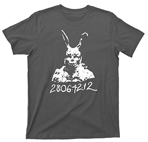 Donnie Darko T Shirt 28:06:42:12 Frank Bunny Rabbit Tee (Small, Dark Gray)