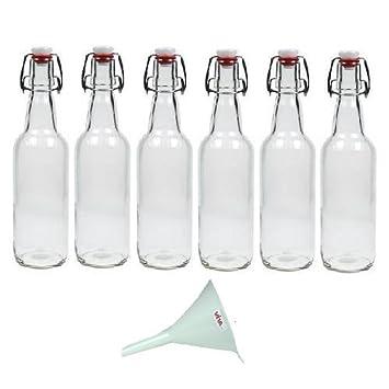 petite bouteille en verre avec bouchon table de cuisine. Black Bedroom Furniture Sets. Home Design Ideas