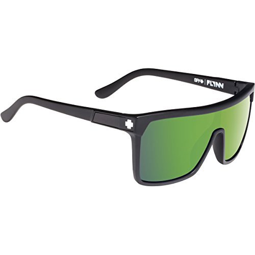 Spy Optic Flynn Lens Sunglasses, Matte Black/Bronze/Green Spectra by - Sunglasses Spy Flynn