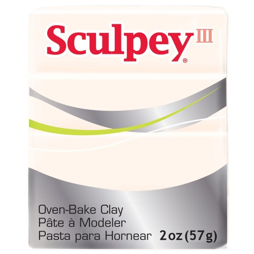 - Sculpey Art Clay III, 2-Ounce, Translucent