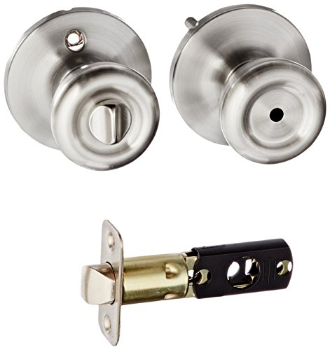 Ultra Hardware 43977 Ultra Security Tulip Knob Lockset Privacy, Stainless Steel