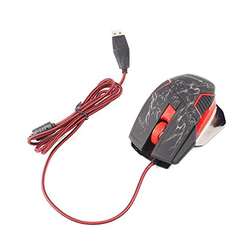 ZHUOTOP Synchronous Operation Of The Mouse Game Wired 6D Game Mouse