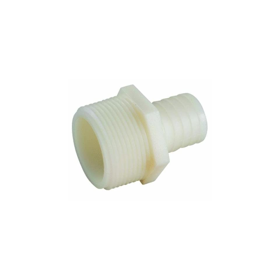 Anderson Metals Corp Inc 53701 1616 Nylon Male Connector (Pack of 5)