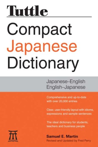 Download Tuttle Compact Japanese Dictionary: Japanese-English English-Japanese pdf epub