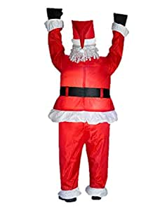 Amazon Com Gemmy Airblown Inflatable Realistic Santa