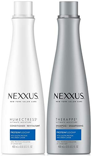 Nexxus Shampoo & Conditioner Combo Pack, Therappe Humectress, Caviar Complex, 13.5 Oz - Conditioner Hydrating Nexxus