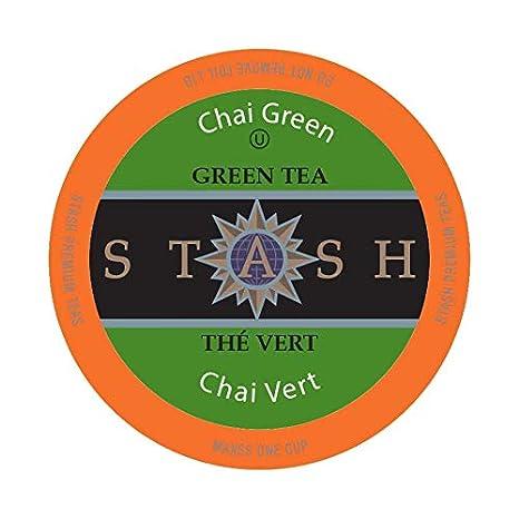2a4227da9e46 Amazon.com   Stash Tea Chai Green Single-Cup Tea for Keurig K-Cup Brewers