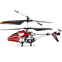 Safstar 4CH RC Helicopter Avatar SM933 Heli Copter Flying Toy Built-in Gyroscope Red