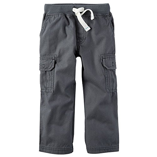 Carter's Baby Boys Woven Pant, Grey, 9 Months
