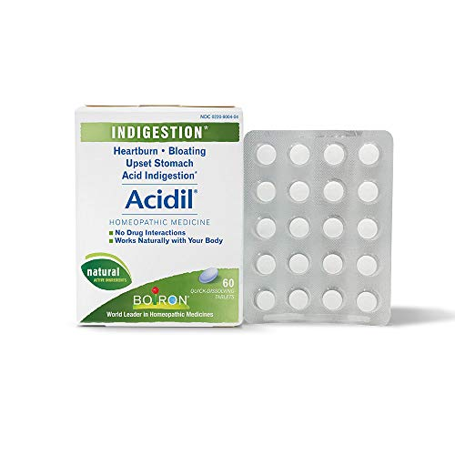 Boiron Acidil Indigestion Medicine for Heartburn and Acid Reflux