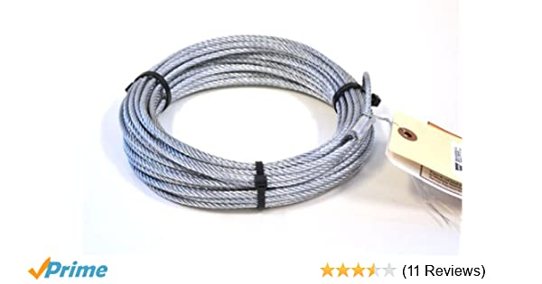 warn winch cable 3//16 atv kit 15236